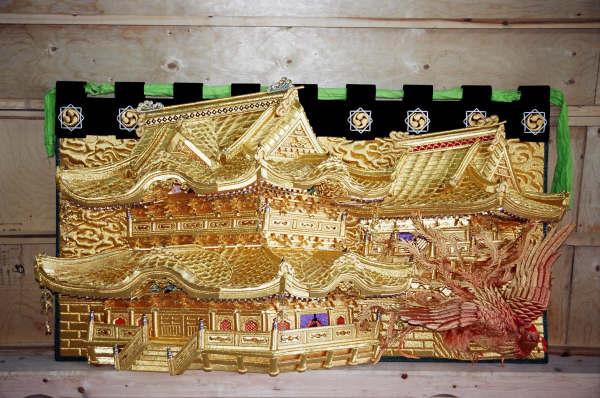 高欄幕(右):南の朱雀