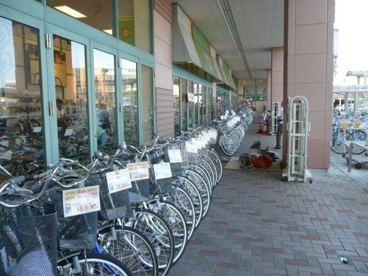 イオンの自転車屋