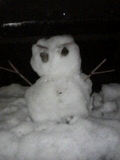 こ雪だるま