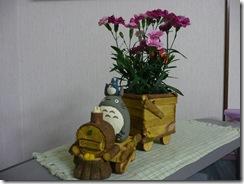 トトロの花車