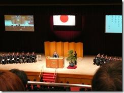 盛大な入学宣誓式