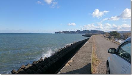 澤津の海岸
