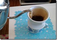 コーヒーを淹れました