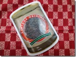 煎たばかりのコーヒー豆